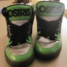 Osiris Mens Neon Green/Silver Shoes