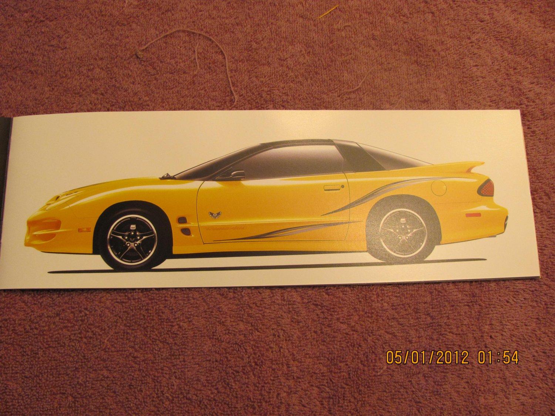 2002 Pontiac Trans Am Collectors Edition Brochure