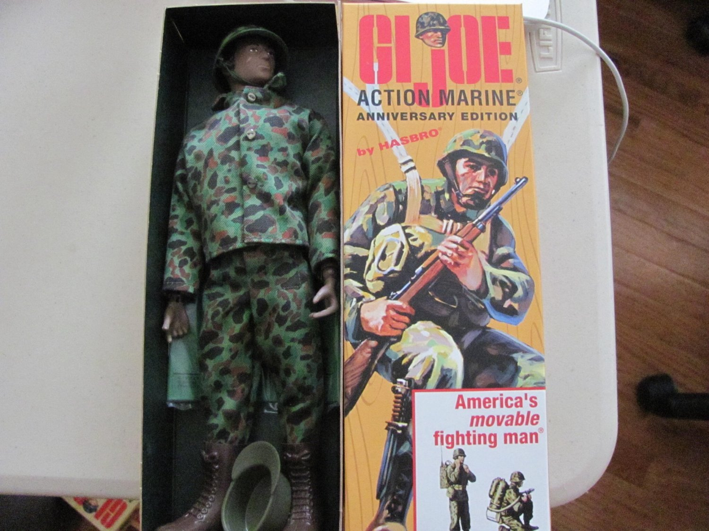2003 Gi Joe Action soldier African American Hasbro