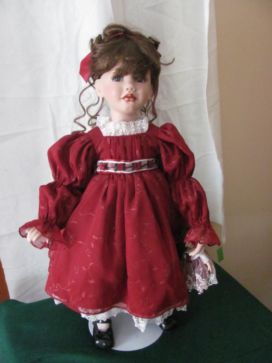 Marie Osmond Young Love Rose Porcelain Doll