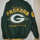 G-III New NFL Green Bay Packers varsity style men's jacket Size Large