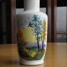 VINTAGE PORCELAIN SCENIC HAND PAINTED Taimar VASE Excellent condition Rare