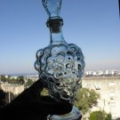 Grape Wine Bottle Decanter Carafe with Stopper Collectible Home Decorating Rare