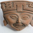 Vintage Pottery Clay Mask from Greece Display Home Decoration Wall Hanging RARE