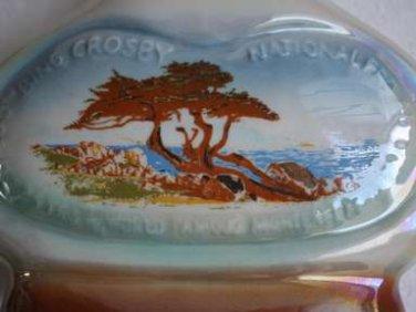 1971 Jim Beam Bourbon Whiskey Porcelain Decanter Bing Crosby 30th National GOLF