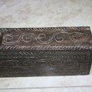 Antique India Rosewood Lidded Spice Box Samruddhi Keralan Museum Quality 1890's
