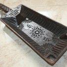 Antique India Rosewood Spice Box Samruddhi Keralan Museum Quality 1800's Engrave
