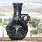Old African Ethiopian Tribal Primitive Clay Pottery Terracotta Pot Vase Jug 8""