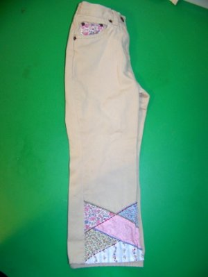 Gymboree Western Prairie Patchwork Khaki Pants