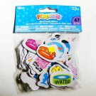 Pet Store Mix - Dogs, Cats, Fish - New! Self Adhesive Foam Stickers - Darice