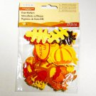 Happy Thanksgiving Turkey Pumpkin - New! Self Adhesive Foam Stickers - Creatology