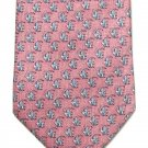 Tropical Fish Silk Nectie Tango Mens Tie Novelty Rose Blue Aquatic Water
