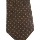 Robert Talbott Silk Wool Tie Mens Tie Italy Crimson Gold Flowers Blue Woven Best Of Class 58