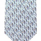 Tango Silk Tie Mens Necktie Golf Light Blue Purple Peach Old School 58