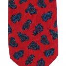 Richel Necktie Reynolds Penland Silk Mens Tie Red Paisley Royal Blue Purple Spain Slim 58