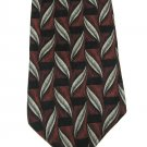 Imported Silk Necktie Mens Tie Secours Designer Fashion Olive Gray Feathers Trellis Maroon Black 59