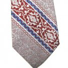 El Cid Wide Tie Mens Vintage Necktie Stripe Texture Classic Light Blue Leisure Suit Crimson 54