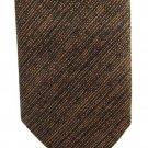 Beau Brummell Vintage Neck Tie Copper Brown Blue Skinny Mad Men 50s Short 53