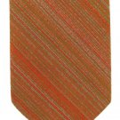 Wembley Vintage Neck Tie 60s Mod Orange Green Pink Narrow Stripe Funky Wemlon 53