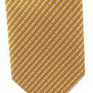 Robert Talbott Best Of Class Silk Tie Long Necktie 59 Narrow  Stripe Holiday Gold Silver Blue
