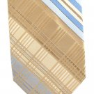 Wembley Vintage Neck Tie 60s Mod Blue Gold Stripe Plaid Wemlon 55