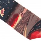 Je Suis Outer Space Necktie Novelty Tie Spaceship Stars Asteroid Sea Of Fire Aliens