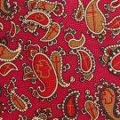 Religious Cross Necktie Silk Mens Tie Paisley Maroon Gold Peace Dove Christian God Faith Long 59.5