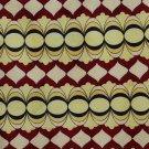 Giorgio Armani Cravatte Italy Silk Necktie Tie Maroon Yellow Mod Short 56
