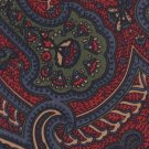 Ferrel Reed Paisley Silk Necktie Mens Tie Blue Green Red Classic Executive 58