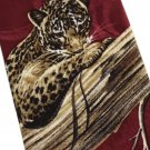 Cheetah Spotted Leopard Necktie Lost Kingdom Endangered Species Nature Wildlife