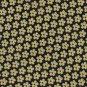 Harold Powell Daisy Flower Necktie Woven Silk Mens Tie Blue Yellow 59