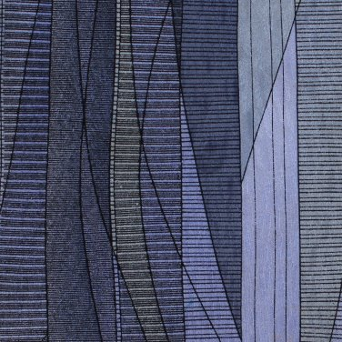 Mens Extra Long Silk Necktie 60 Tie Blue Black Stained Shattered Glass Modern Cocktail Colors