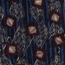 Guy Laroche Silk Tie Mens Necktie Blue Maroon Mod Abstract 59 Canada