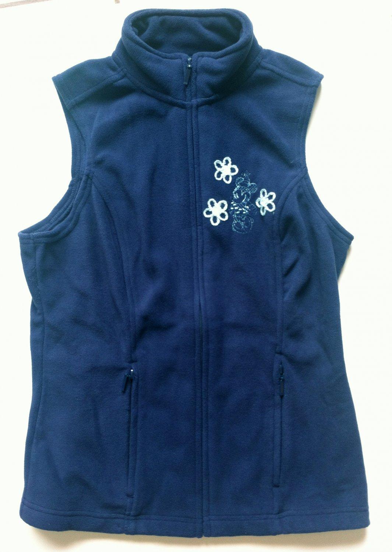 Small Disney World Minnie Mouse Women's Fleece Vest