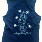 Large Disney World Minnie Mouse Women's Fleece Vest