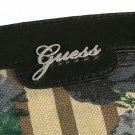 Guess Azura Black Flower Print Tote Black Handbag CA343523
