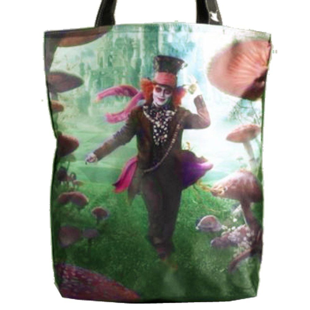 Disney Alice in Wonderland Mad Hatter Novelty Collectible Tote Handbag