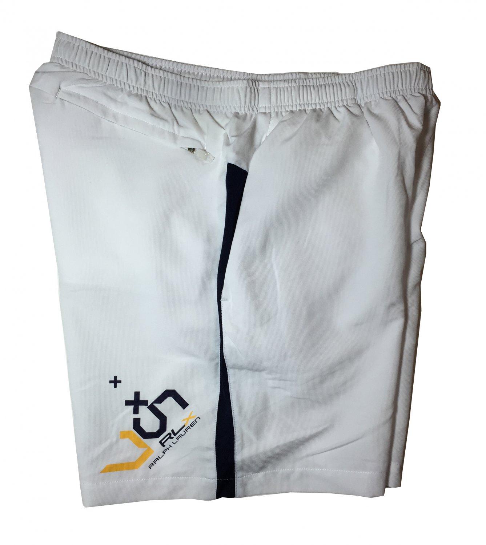 Men's L RLX Polo Ralph Lauren White Active Running Shorts