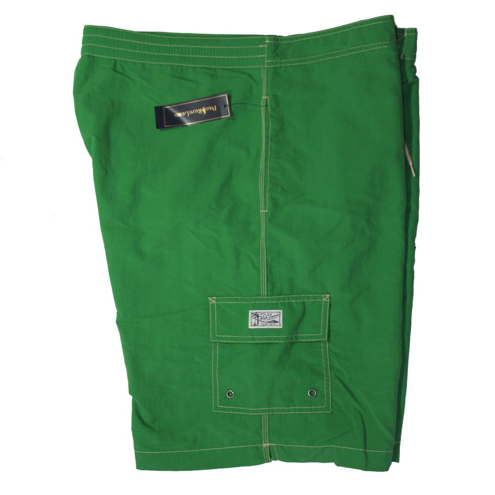 Polo Ralph Lauren Men's Board Shorts Swimwear Green XXL
