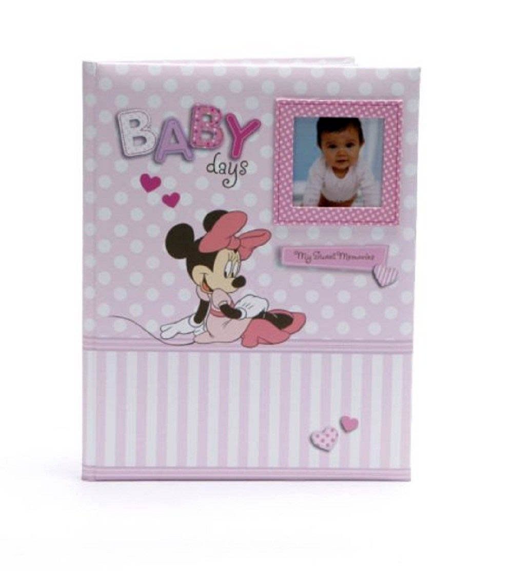 Disney Minnie Mouse Baby Days Pink Girl Keepsake Record Memory Book