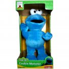 "13""H Fisher Price Sesame Street Cookie Monster Plush Doll 12 Month+"