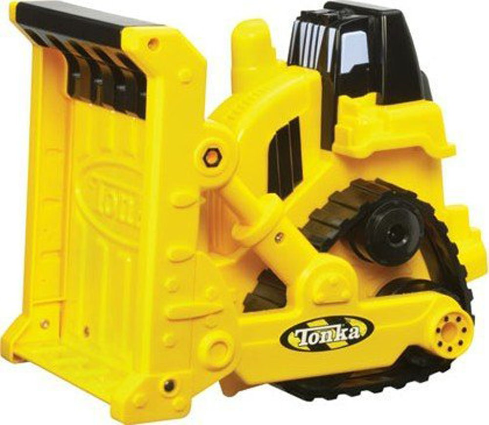 """10""""L Tonka BULLDOZER Real Rugged Durable Construction Truck Gift Boys Ages 3+"""