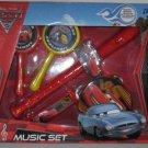 Disney Pixar Cars 2 Music Set Maracas Harmonica Flute Recorder Tambourine Boy 3+