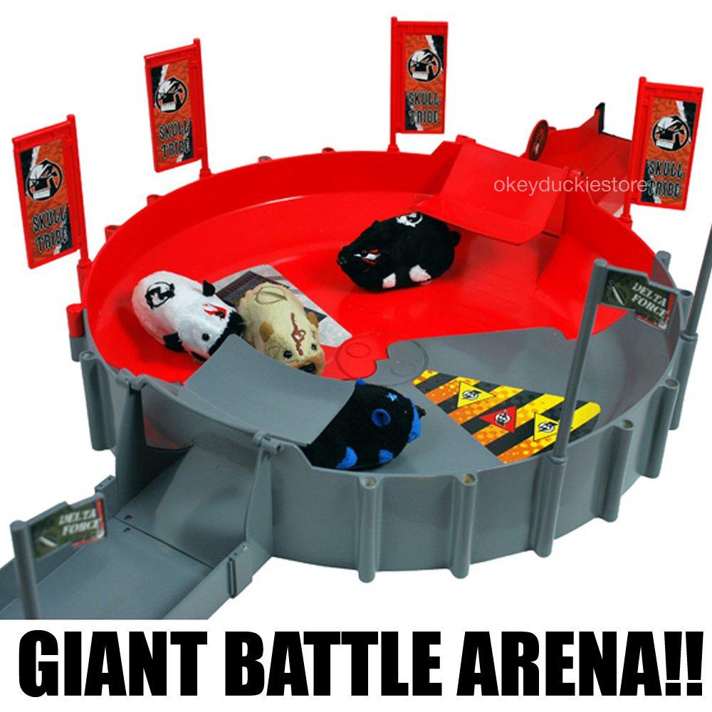 20Pc Giant Battle Arena Kung Zhu Zhu Pets Special Forces Ninja Warriors Boys 4+