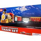 14 FEET Track Battery Operated Christmas Tree Train 20 Piece Set Gift Ages 3+