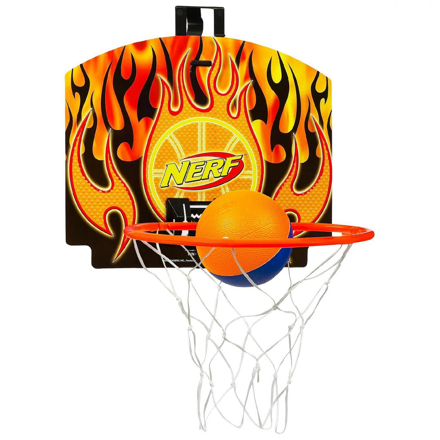 Nerf Nerfoop Classic Indoor Basketball Hoop Ball Heat Boys Gift Miami Toy Age 3+