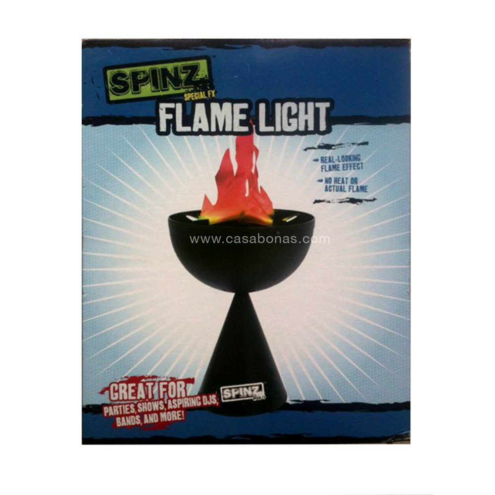 Spinz Special FX FLAME LIGHT Effect for Parties Shows DJs Bands Teens Gift 14+