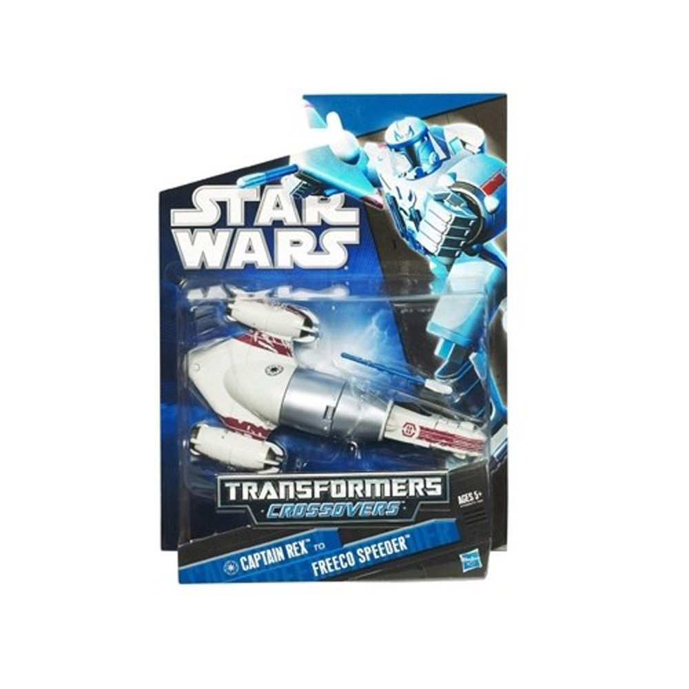 Star Wars Transformers Crossovers Captain Rex to Freeco Speeder Collector Boy 5+