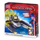 91 Pcs Mega Bloks The Amazing Spider-man Lizzard Sewer Speeder Boys Gift 6+