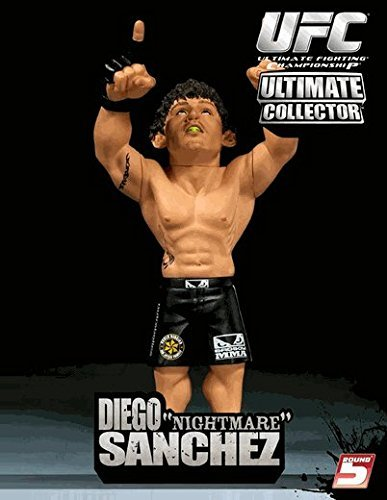 """UFC Diego """"Nightmare"""" Sanchez Action Figure Ultimate Collector Ages Boys 5+"""